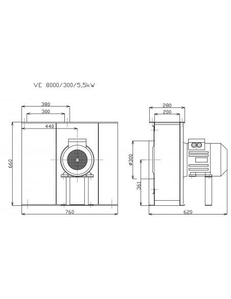 Schéma G8000 HolzProfi