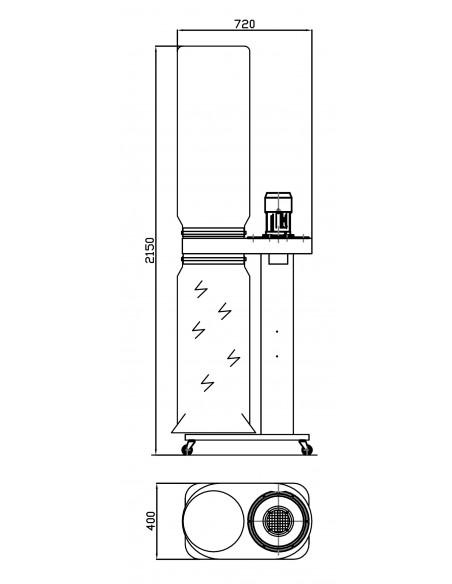 Schéma U1500-TRI HOLZPROFI