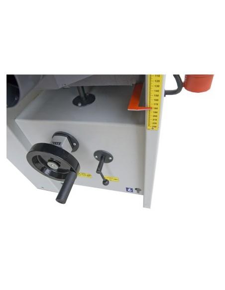 Compteur mécanique lecture hauteur de rabotage