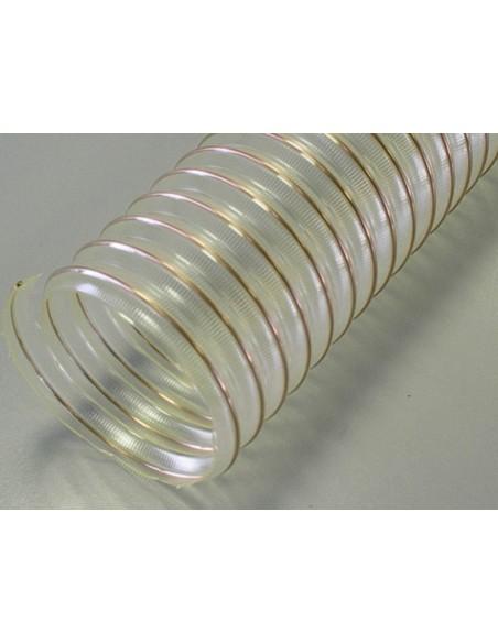 Tuyau flexible industriel à spire cuivre Ø40