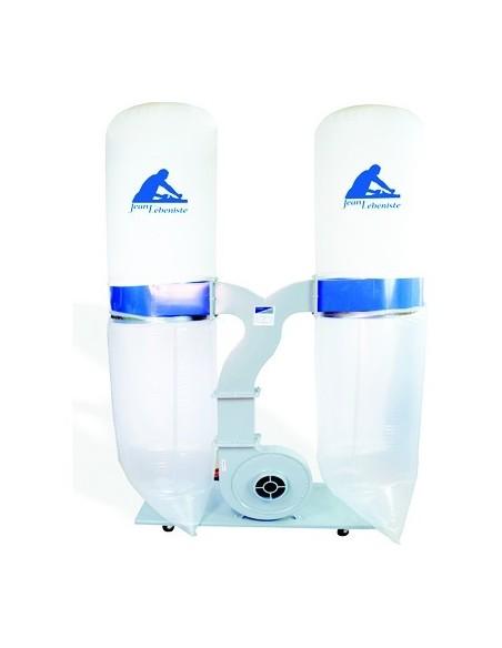 Aspirateur mobile 230 litres / 2 sacs