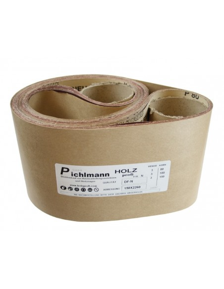 Bande abrasives pour ponceuse COMP1248 grain 100