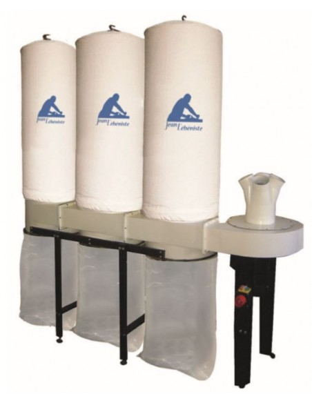Aspirateur mobile 320 litres / 3 sacs