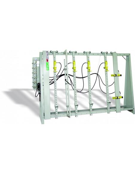 Cadreuse à serrage hydraulique centralisé