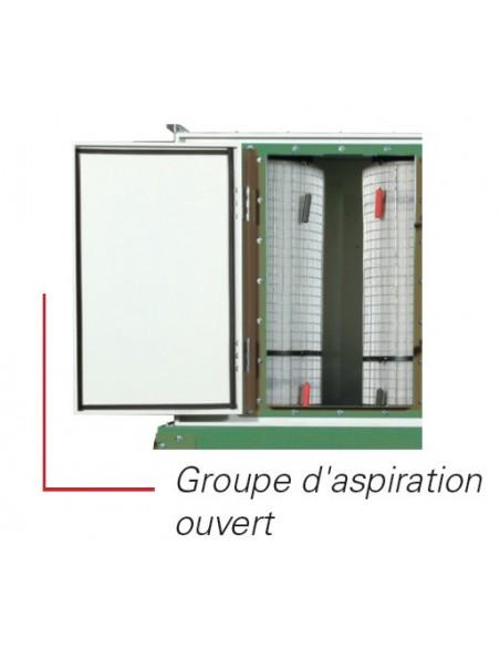 Groupe d'aspiration GA750SCA 3 cuves HOLZPROFI