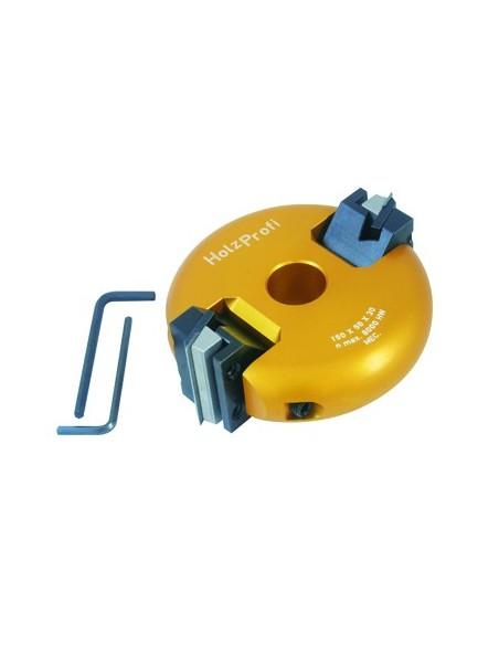 Porte outils à tête inclinable Ø150