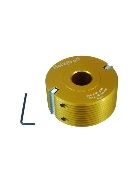 Porte outils bouvetage en dents de scie Ø140