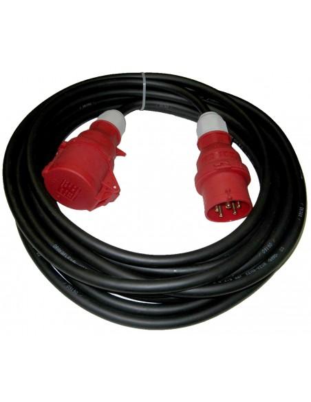 Rallonge électrique triphasée