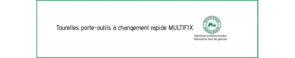 Tourelles porte-outils à changement rapide MULTIFIX