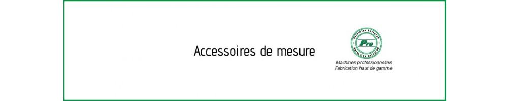 Accessoires de mesure