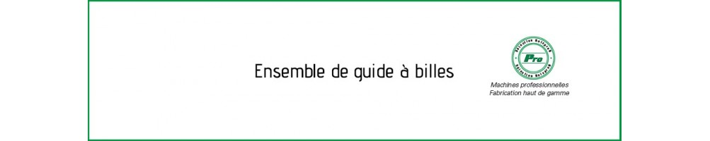Ensemble de guide à billes - Guide à billes pour toupie