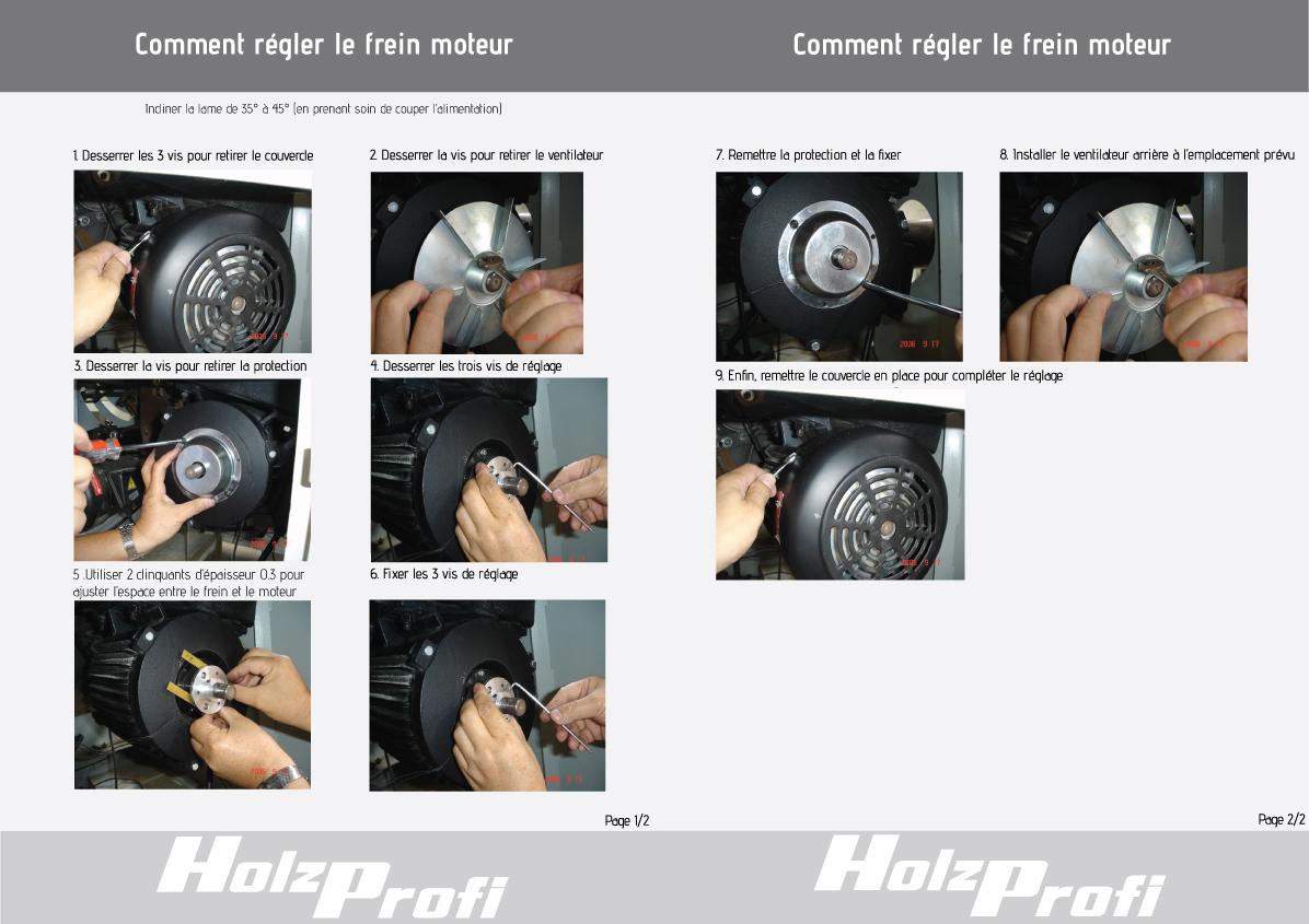 Comment régler le frein moteur